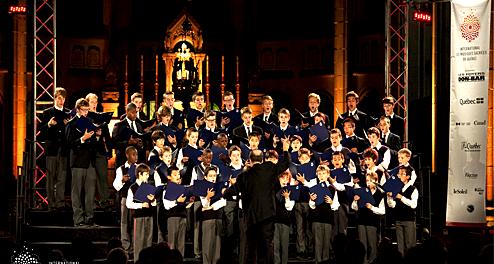 Concert de l'International des musiques sacrées de Québec 2013