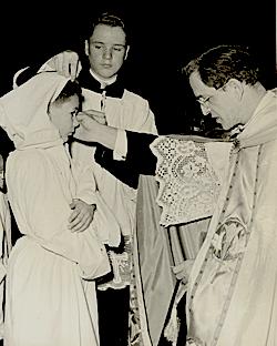 Première prise d'aube - 22 decembre 1957 - Archives de la Maîtrise des Petits Chanteurs du Mont-Royal